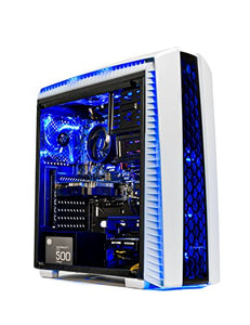 Skytech Gaming ST-ARCH-II-002 Archangel Gaming Computer Desktop PC AMD Ryzen 5 1400,GTX 1060 3GB, 1TB HDD,16 GB DDR4, Windows 10 Home, White