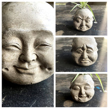 Four Faces of Buddha - Concrete Planter - Phra Phrom - Brahma