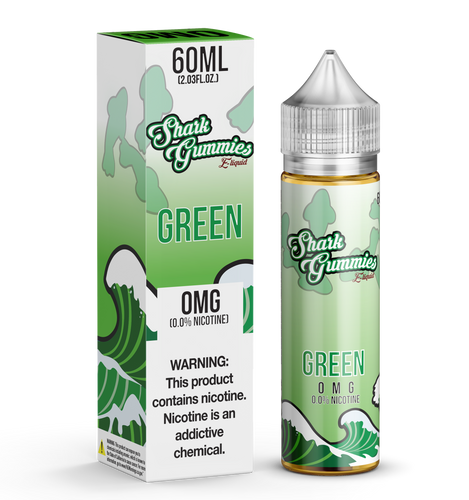 Green Shark Gummies 60ML
