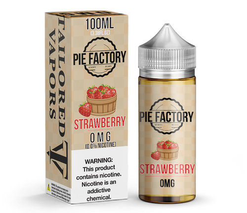 Strawberry Pie Factory 100ML