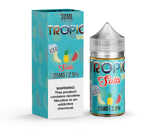 Tropic 100 Iced Salts 30ML