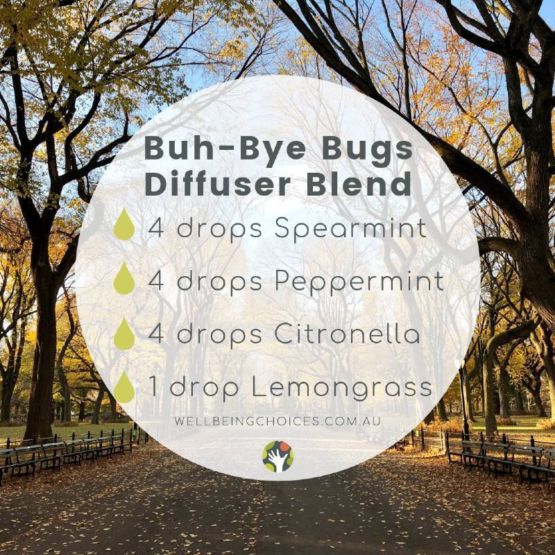 Buh Bye Bugs Diffuser Blend