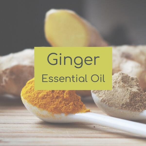 Ginger Essential Oil facts at Wellbeing Choices