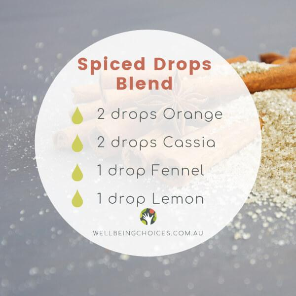 Spiced Drops Diffuser Blend Recipe at Wellbeing Choices