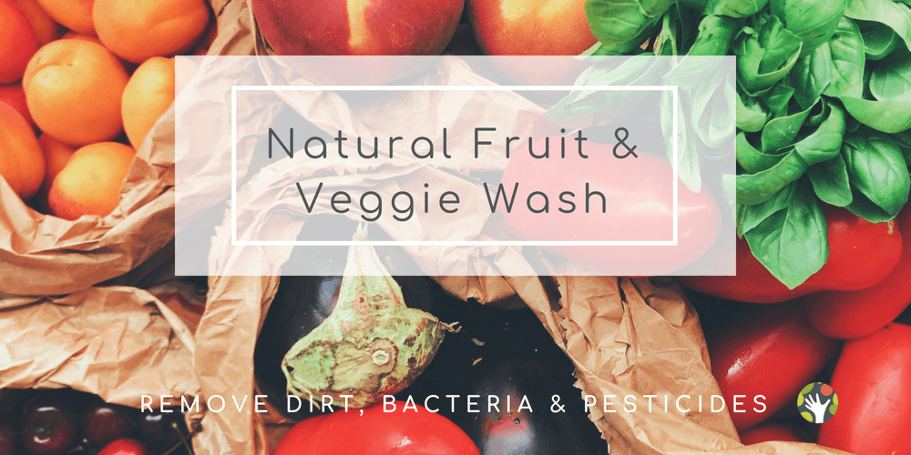 Super Simple Fruit and Veggie Wash