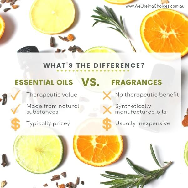 What's the difference between essential oils and fragrances?