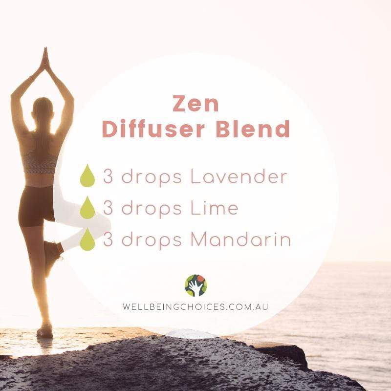 Zen Diffuser Blend Wellbeing Choices Droplets blog