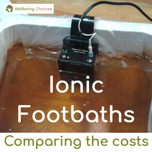 Ionic Footbaths Comparing the Costs IonCleanse by AMD A Major Difference in Australia
