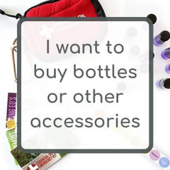 I want to buy essential oil bottles or other accessories
