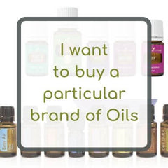 I want to buy a particular brand of essential oils