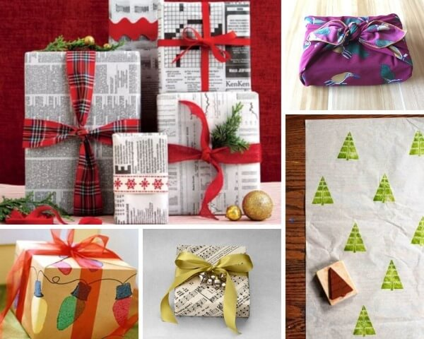 Christmas wrapping ideas that are eco friendly