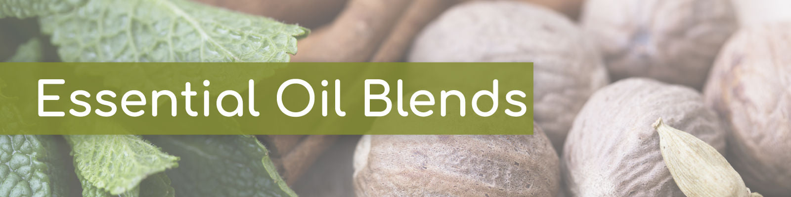 Essential oil blends collection