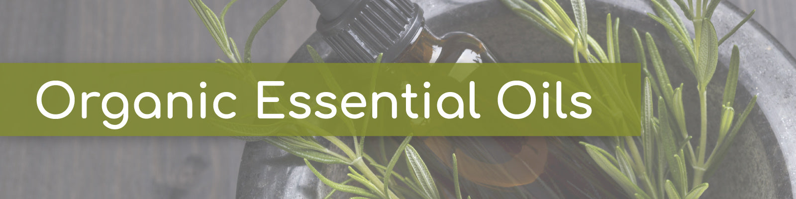 Collections organic essential oils