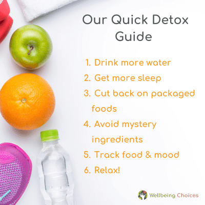Wellbeing Choices' Quick Guide to Detox
