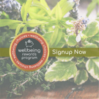 Sign up now wellbeing rewards
