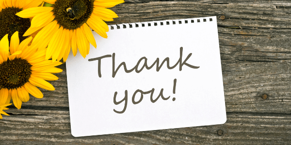 Thank you from Wellbeing Choices