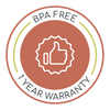 BPA Free - 1 year Warranty - Wellbeing Choices Diffusers