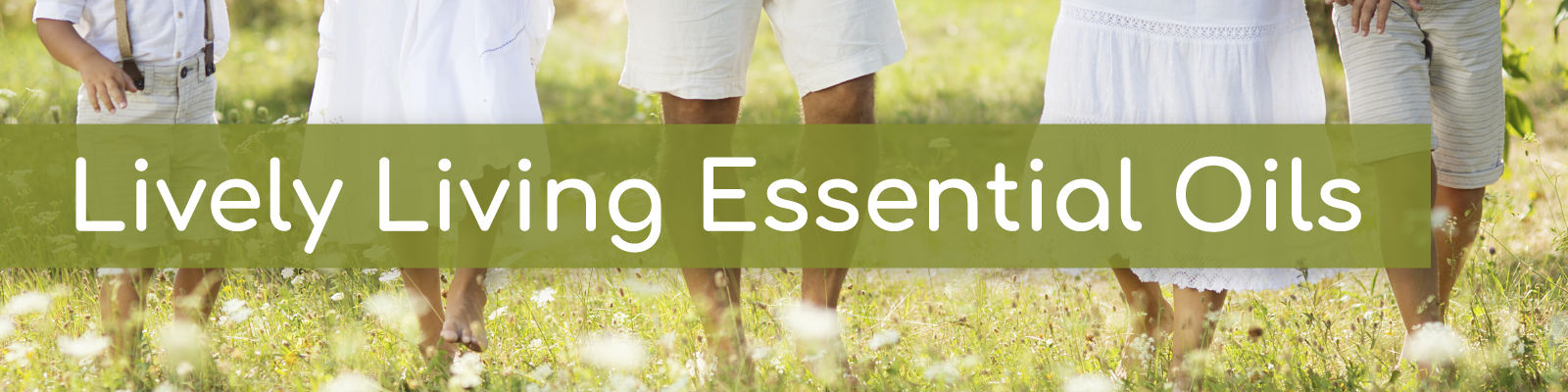 Lively Living essential oils collection
