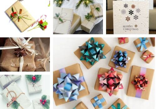 Decorating ideas for Christmas gifts