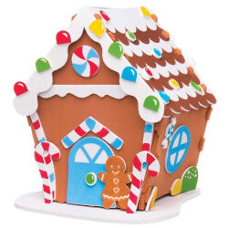 Gingerbread House Sticker kit