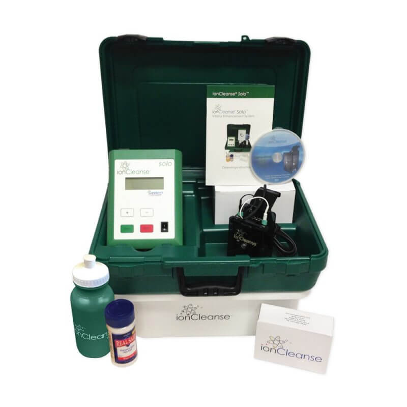 IonCleanse Solo by AMD Full body detoxification system in Australia at Wellbeing Choices