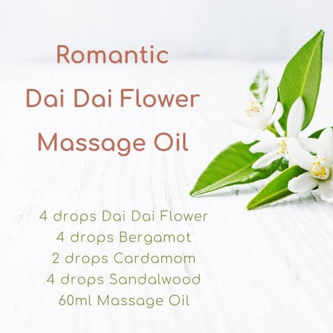 Romantic Dai Dai Flower Massage Oil