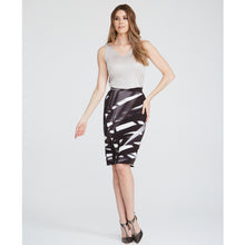 Chiloe palm print skirt