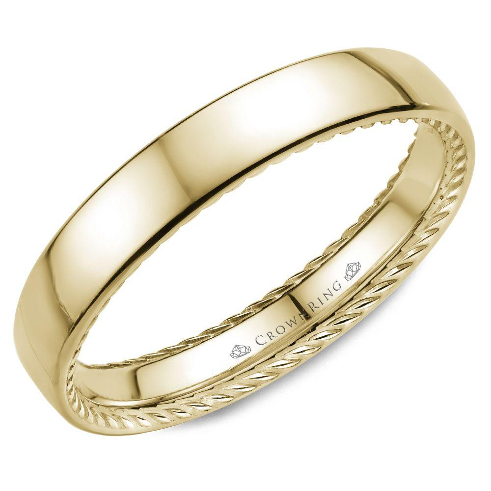Classic Yellow Gold Women's Wedding Band