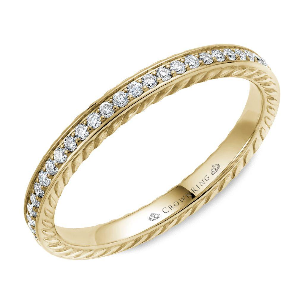Ultimate Yellow Gold Women's Wedding Band