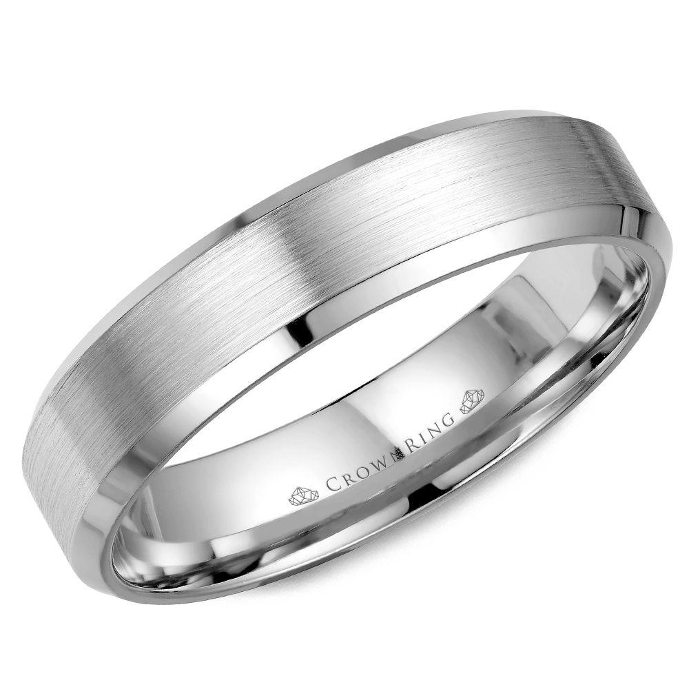 Crownring Classic 4mm Rose Gold Wedding Band For Men