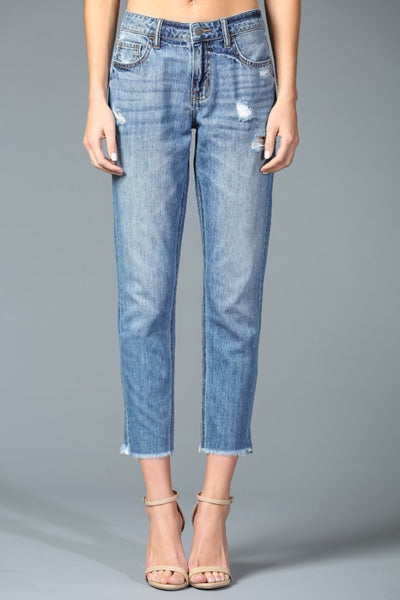 Disclosed by Cello Boyfriend Jeans
