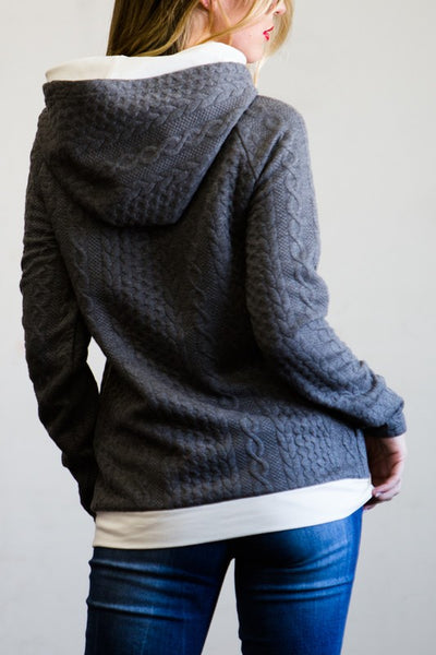 Charcoal Sweater Hoodie