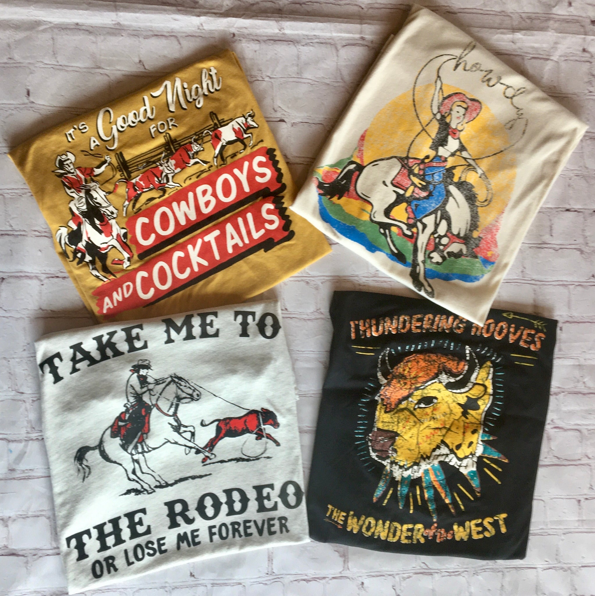 """Take Me To The Rodeo""  Tee"