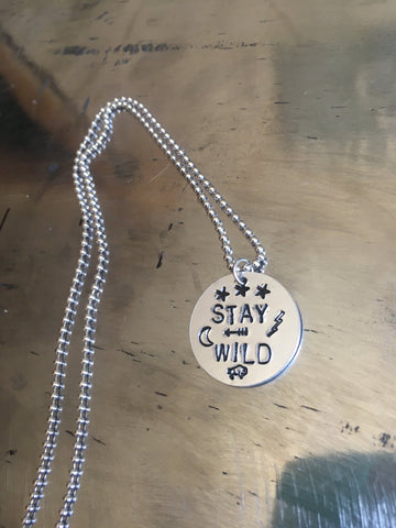 """Stay Wild"" Necklace"