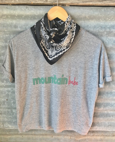 """Mountain Babe"" Tee"