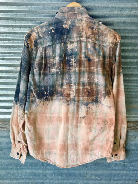 Hand Distressed Flannel