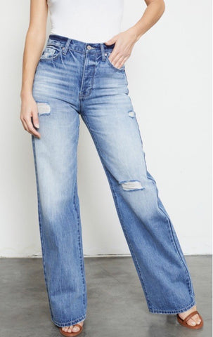 Kancan Montana 90's Flare Jeans