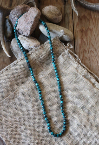 Barrel Stone Necklace