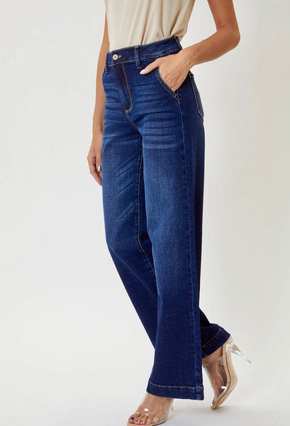 KanCan Wide Leg Trouser