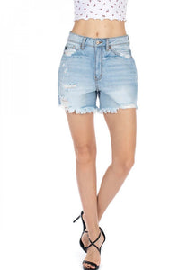 Hazel Kancan Denim Shorts