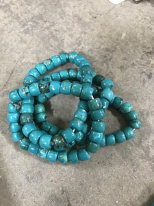 Smooth Barrel Magnesite Bracelet