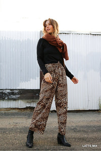 Cheetah High Waist Pants