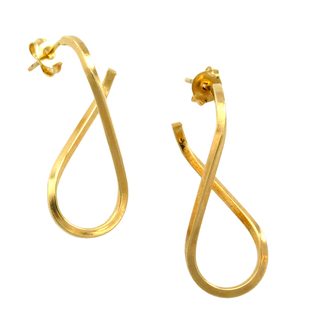 SE522B 18K Gold Plated Earrings