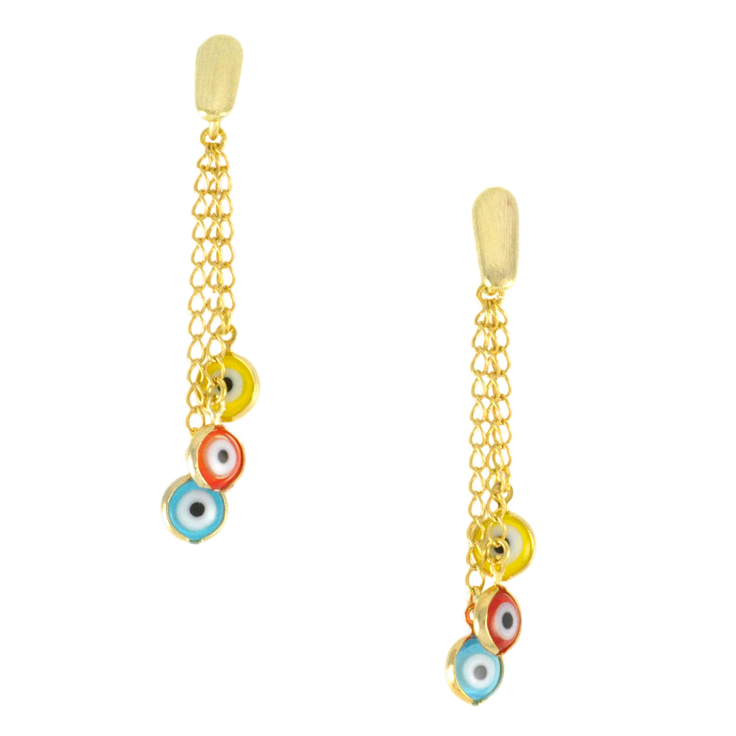 SE585 Evil Eye Earrings