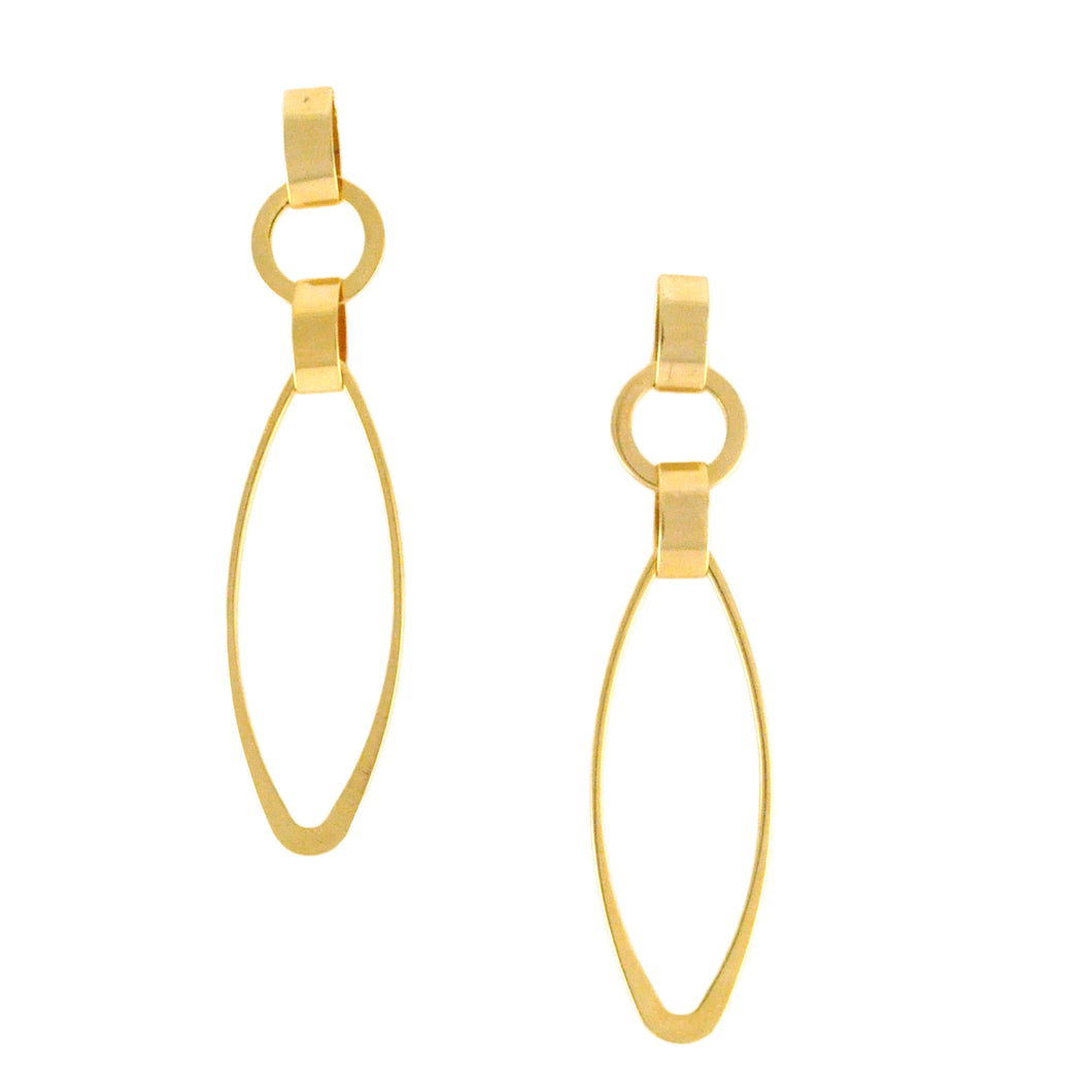 SE622 18k Gold Plated Earrings