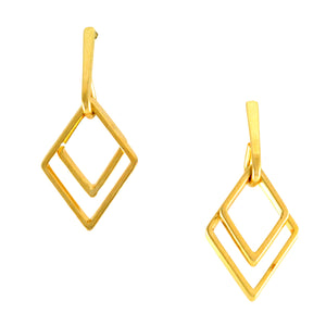 SE652 18K Gold Plated Earrings