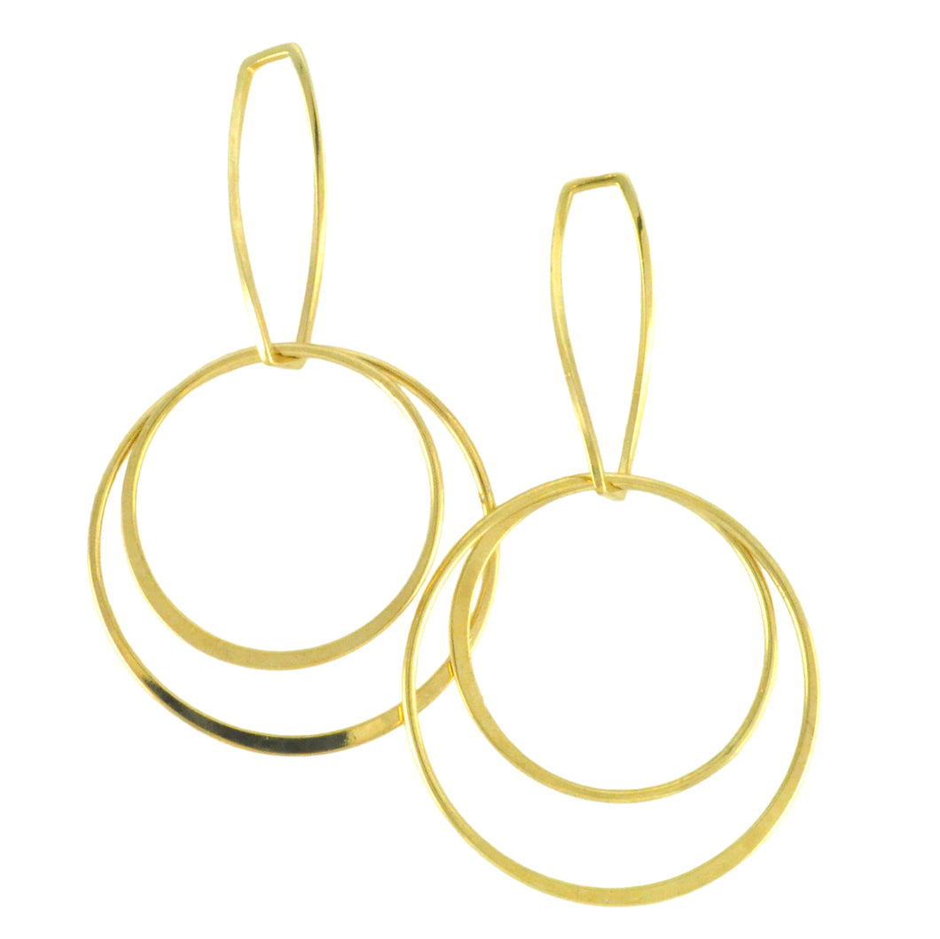 SE659 18K Gold Plated Earrings