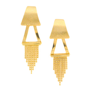 SE683 18K Gold Plated Earrings