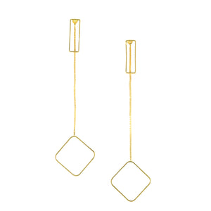 SE719 18k Gold Plated Earrings