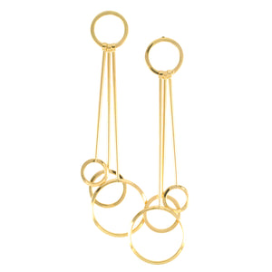 SE721 18k Gold Plated Earrings